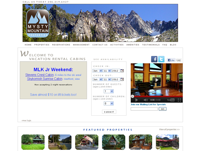RMS vacation rental software drives websites in Seattle!