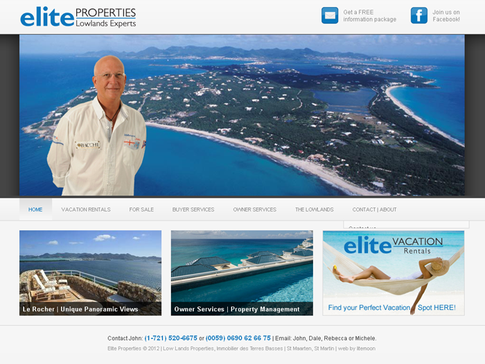 RMS vacation rental software drives websites in St. Martin!